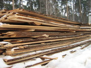 обрезная доска осина 25х150х6000 мм блок-хаус 35х190х6000 мм брус