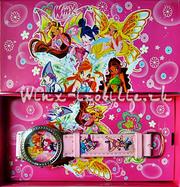 Часы Winx (винкc), spider-man (человек-паук), cars тачки маша и медведь